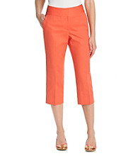 Laura Ashley® Twill Cropped Pants