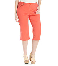 Relativity® Plus Size Capri