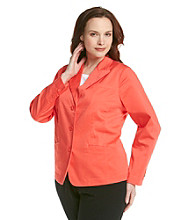 Relativity® Career Plus Size Blazer