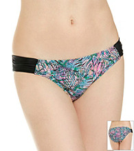 Mambo Juniors' Swim Palm Print Bottom