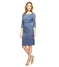 Alex Evenings® Illusion Lace Dress