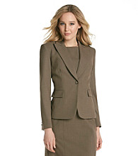 Tahari by Arthur S. Levine® Notch Collar One Button Jacket