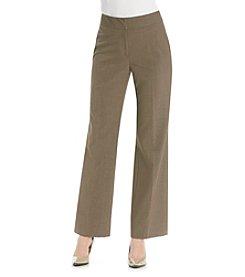 Tahari by Arthur S. Levine® Flat Front Basic Pant