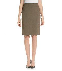 Tahari by Arthur S. Levine® Flat Front Basic Skirt