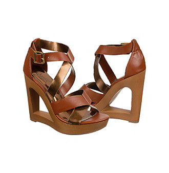 Carlos by Carlos Santana Shoes, Demi Platform Wedge Sandals Women's Shoes