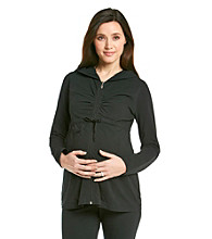 Three Seasons Maternity™ Zip-Front Hoodie