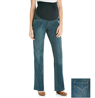 Three Seasons Maternity™ Dark Wash Stretch Denim Bootcut Jean
