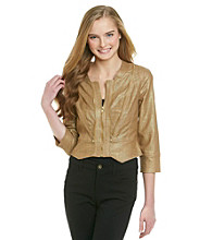 XOXO® Juniors' Zip Front Jacket