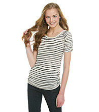 Eyeshadow® Juniors' Striped Tee