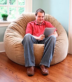 Gold Medal Comfort Cloud Foam Bean Bag