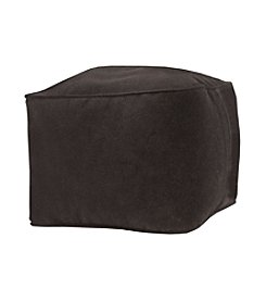 Gold Medal Micro-Fiber Suede Ottoman