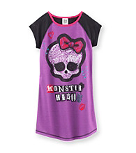 Monster High® Girls' 6-16 Purple Skull Dorm