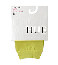 HUE® Girls' 4-14 Neon Green Footless Tights