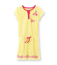 Sugar Sweet Girls' 5-16 Yellow/Pink