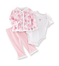 Little Me® Baby Girls' Pink Butterfly Take-Me-Home Set