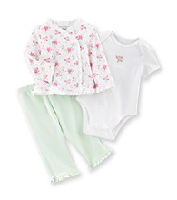 Little Me® Baby Girls' Green Spring Bouquet Take-Me-Home Set