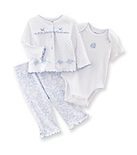 Little Me® Baby Girls' Blue Rose Take-Me-Home Set