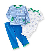 Little Me® Baby Boys' Blue Monkey Take-Me-Home Set