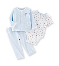 Little Me® Baby Boys' Blue Baseball MVP Take-Me-Home Set