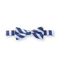Statements Boys' Blue Nautical Striped Bowtie