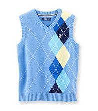 Izod® Boys' 4-7 Blue Sweater Vest