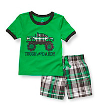 Carter's® Boys' 2T-4T Green 2-pc.