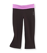 Mambo&Reg; Girls' 7-16 Solid Yoga Capri