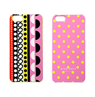 Nine West® Dots Can't Stop Shopper iPhone® 4 Cover - 2-pk.