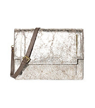 Vince Camuto® Cream Silver Autumn Clutch
