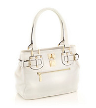 AK Anne Klein® Cream Trinity Satchel