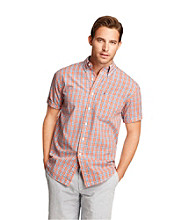 Izod® Men's Short Sleeve Plaid Woven