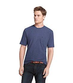 Izod® Men's Navy Stitch Short Sleeve Solid Jersey Tee