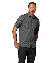 Van Heusen® Men's Short Sleeve Striped Traveler Woven