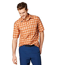 Bass® Men's Short Sleeve Plaid Explorer Woven
