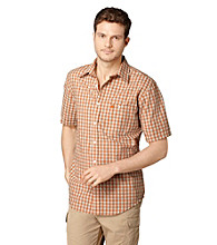 Bass® Men's Short Sleeve Mini Plaid Seersucker Woven