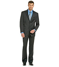 Jones New York® Men's Charcoal Solid Suit