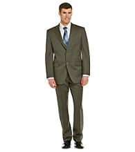 Jones New York® Men's Olive Althletic-Fit Check Suit