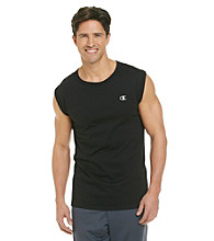 Champion® Men's Black Jersey Muscle Tee