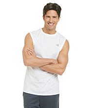 Champion® Men's White Jersey Muscle Tee