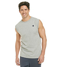 Champion® Men's Oxford Grey Jersey Muscle Tee