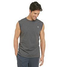 Champion® Men's Granite Heather Jersey Muscle Tee