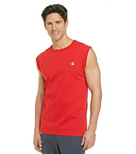 Champion® Men's Crimson Jersey Muscle Tee
