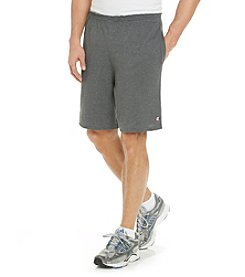 Champion® Men's Granite Heather Jersey Short with Pocket