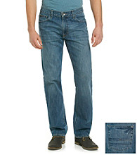 Calvin Klein Jeans® Men's Orbit Blue Relaxed Straight-Fit Denim