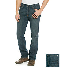 Calvin Klein Jeans® Men's Dark Cerulean Blue Relaxed Straight-Fit Denim