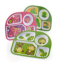 LivingQuarters Kids 4-Section Plate