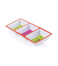 LivingQuarters Samba 3-Section Tray