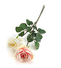 LivingQuarters Rose Decorative Pick