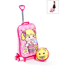 MaxToy Deby and Cat 3D Roller BackPack Set