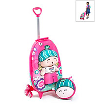 MaxToy Qui Qui Melly 3D Roller BackPack Set